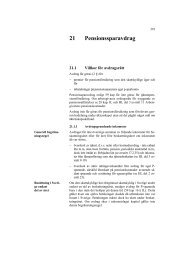 Handledning för beskattning av inkomst och ... - Skatteverket