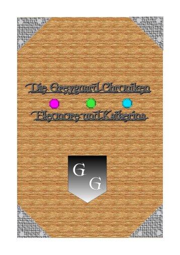 Die Greyguard Chroniken Eleonore und Katherina - Midgard-Forum
