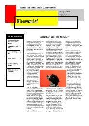 nieuwsbrief juli augustus 2013 - Dierenartsen praktijk Laakkwartier