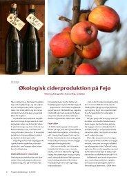 Praktisk Økologi 1/2005 - Fejø Cider