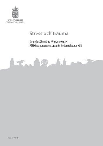 En undersökning av förekomsten av PTSD hos personer utsatta för ...