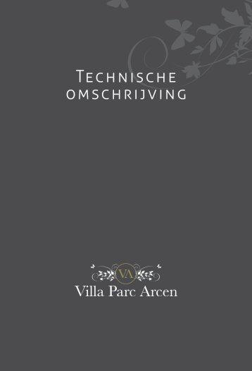 Download de Technische omschrijving ... - Villa Parc Arcen