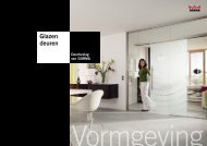 glazen deuren deurbeslag van dorma