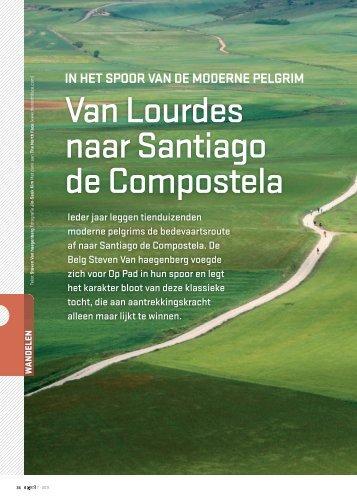 Van Lourdes naar Santiago de Compostela - Op Pad