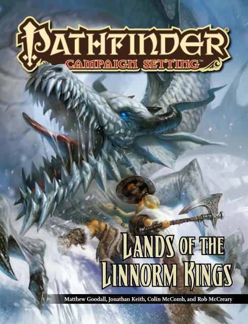 PZO9238 Lands of the Linnorm Kings pdf