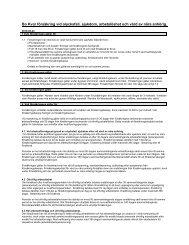 Trygghetsförsäkring vid olycksfall, sjukdom och arbetslöshet - Redcats