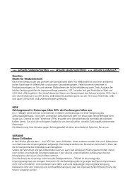 Auslandsinfos August 2012 - Waldecker Bank eG