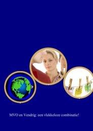 MVO beleid - Vendrig Bedrijfskleding