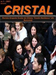 CRISTAL nr.1 - 2007