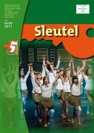 Schooltijdschrif Sleutel - lente 2011 - 75 jaar VMS
