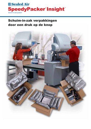 Schuim-in-zak opvulsysteem SpeedyPacker® Insight