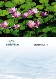 Begroting 2013.pdf - Hunze en Aa's
