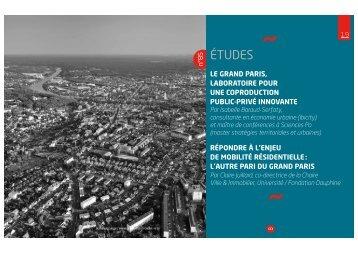 Le Grand Paris, laboratoire pour une coproduction public ... - ibicity