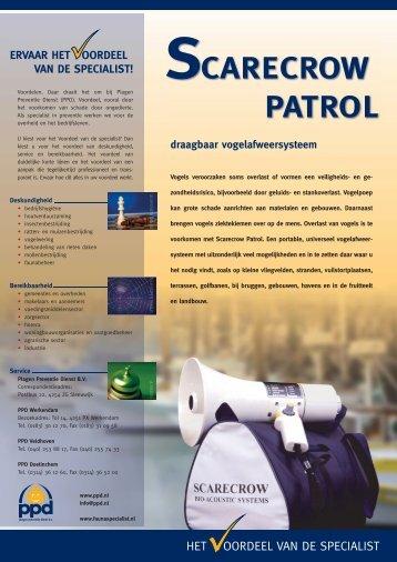 SCARECROW PATROL - Plaagen Preventie Dienst
