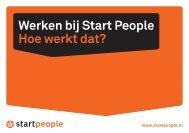 Boekje: Werken bij Start People, hoe werkt dat