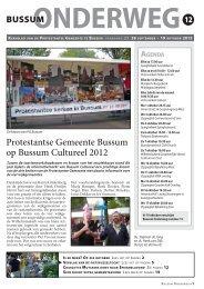 Onderweg 12 - Protestante Gemeente Bussum