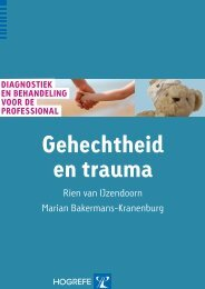 gehechtheid en trauma - BoomPsychologie.nl