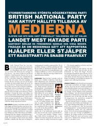 BRITISH NATIONAL PARTY - Expo