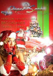 Zondag 29 januari 14.00 uur - Cobra Club Nederland