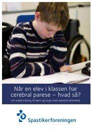 Når en elev i klassen har cerebral parese - Spastikerforeningen