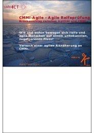 CMMI-Agile - Agile Reifeprüfung