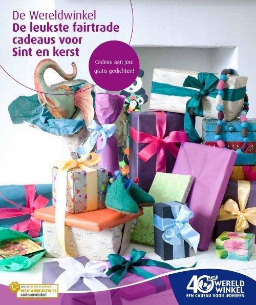 De Wereldwinkel De Leukste Fairtrade Cadeaus Voor Sint En Kerst