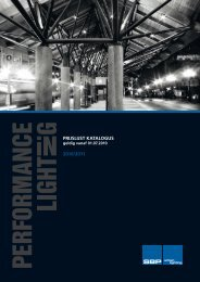 SBP Urban Lighting catalogus 2010 - Velectra