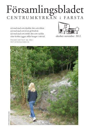 Församlingsbladet ht 2012 - Centrumkyrkan Farsta
