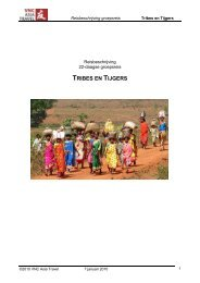 TRIBES EN TIJGERS - VNC Asia Travel