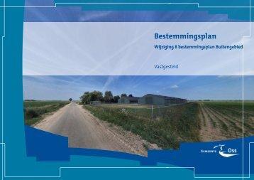 Wijziging 8 bestemmingsplan Buitengebied ... - Gemeente Oss