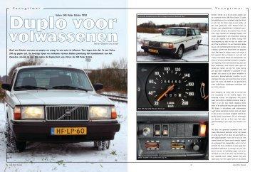 Y oungtimer Y oungtimer Volvo 240 Polar Estate 1993 - van der Aa