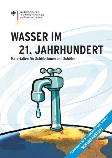WASSER IM 21. JAHRHUNDERT - BMU