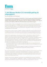 7. Het Nieuwe Werken 2.0: menselijk gedrag als uitgangspunt - DGMR