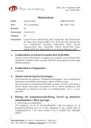 Referat fra den 28. august 2008 - Århus Lærerforening - kreds 133