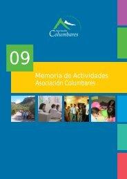Descargar memoria - Asociación Columbares
