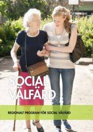 regionala sociala välfärdsprogrammet - Regionförbundet Örebro