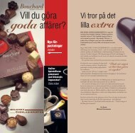 Ladda ner vår produktkatalog här - Belgiska Chokladimporten