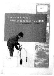 Bodemonderzoek milieuvergunning en BSB met protocol ... - SIKB