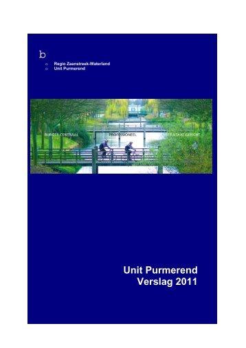 Politie verslag 2011 - Gemeente Purmerend