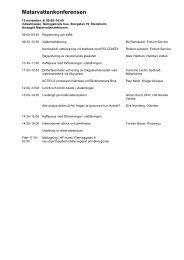 Matarvattenkonferensen