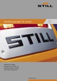Återlämningsregler för truckar - Still Stocka AB
