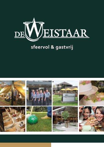 Download en bekijk onze brochure - De Weistaar