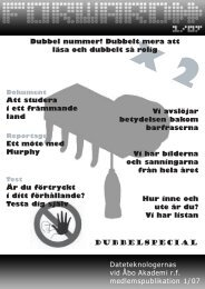 Forward 01/2007 - Åbo Akademi