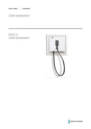 USB-laadstation 6474 U USB-laadstation - BUSCH-JAEGER Katalog