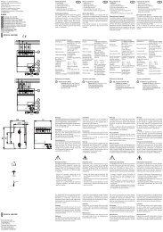 IP20 5 1 2 3 4 5 1 2 3 4 6198/19 - BUSCH-JAEGER Katalog