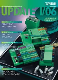 update 1/06 (pdf 2,94 mb) - Phoenix Contact
