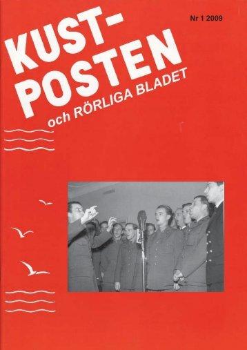 Kustposten nr 1 2009 - Ka2 kamratförening