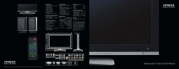 "Professional 55"" Plasma HDTV Monitor"