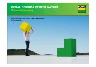 Berrima Cement Works community meeting - Boral