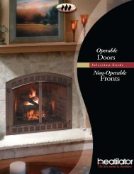 Fronts - Hearth & Home Technologies